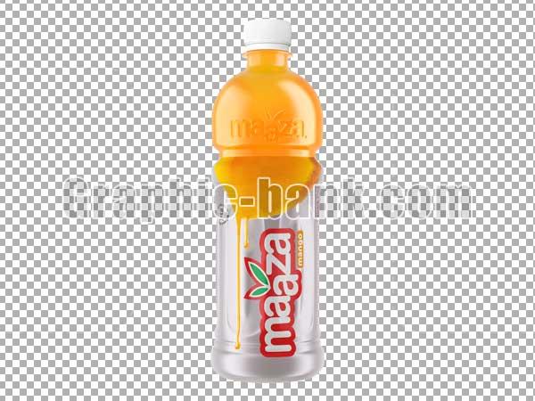 تصویر دوربری شده بطری آبمیوه