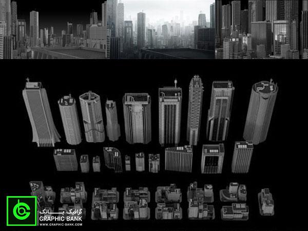 مدل های سه بعدی ساختمان