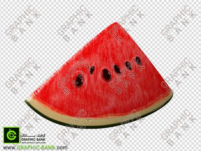 تصویر png برش هندوانه