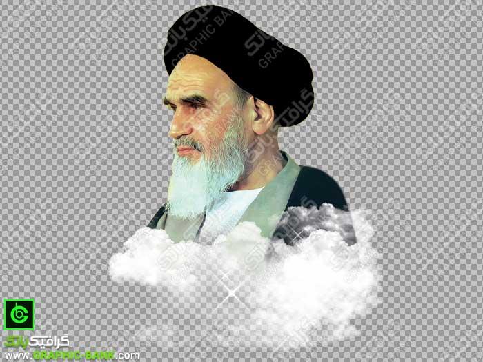 تصویر دوربری شده امام خمینی