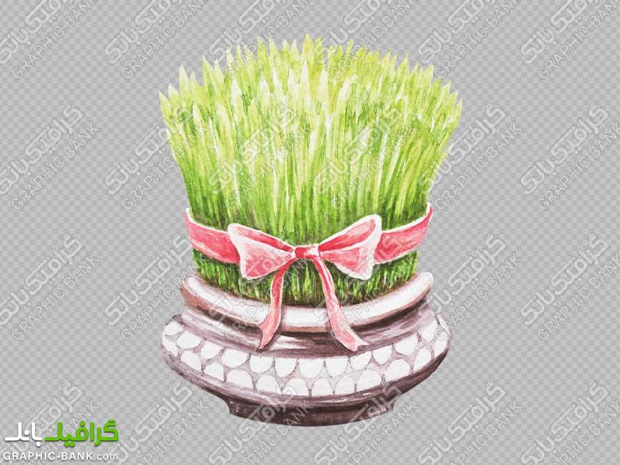 تصویر سبزه کارتونی