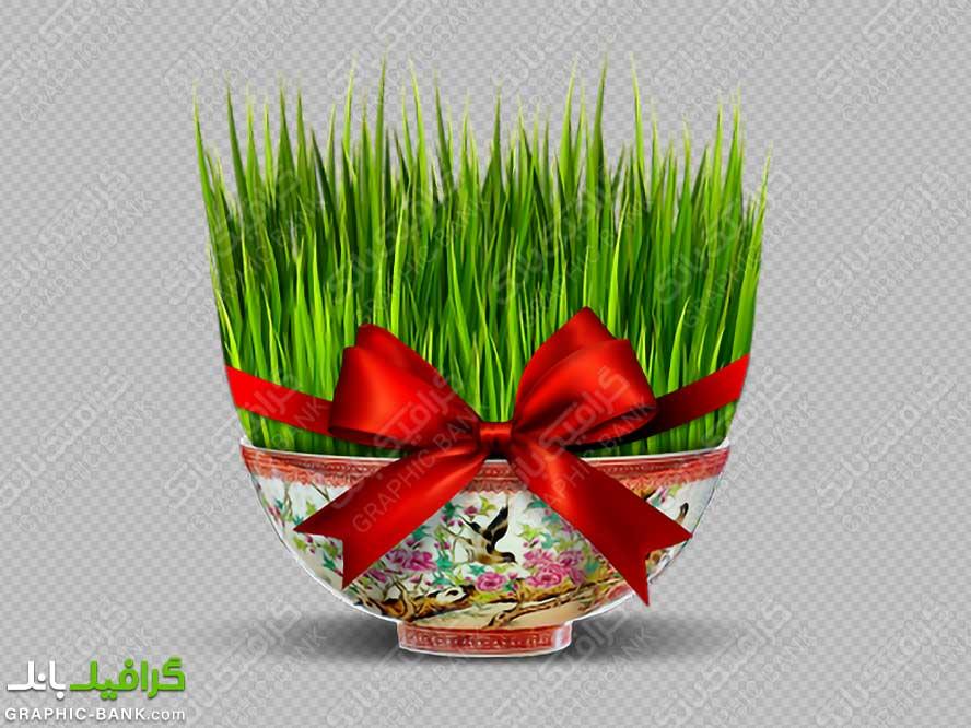 تصویر سبزه زیبا