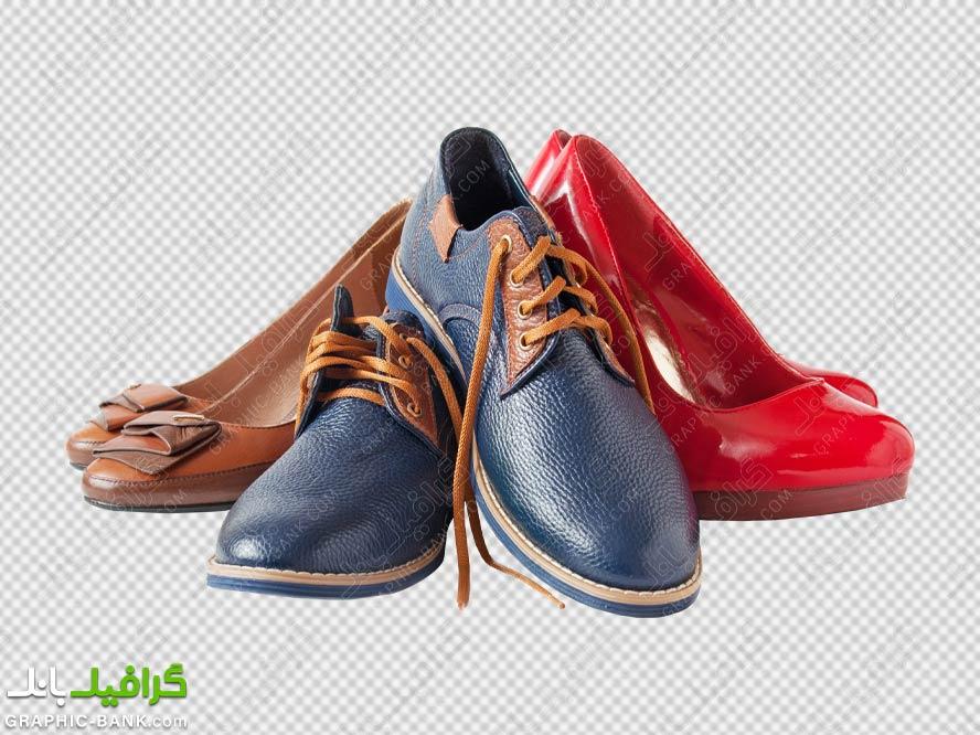 تصویر png کفش های زنانه و مردانه