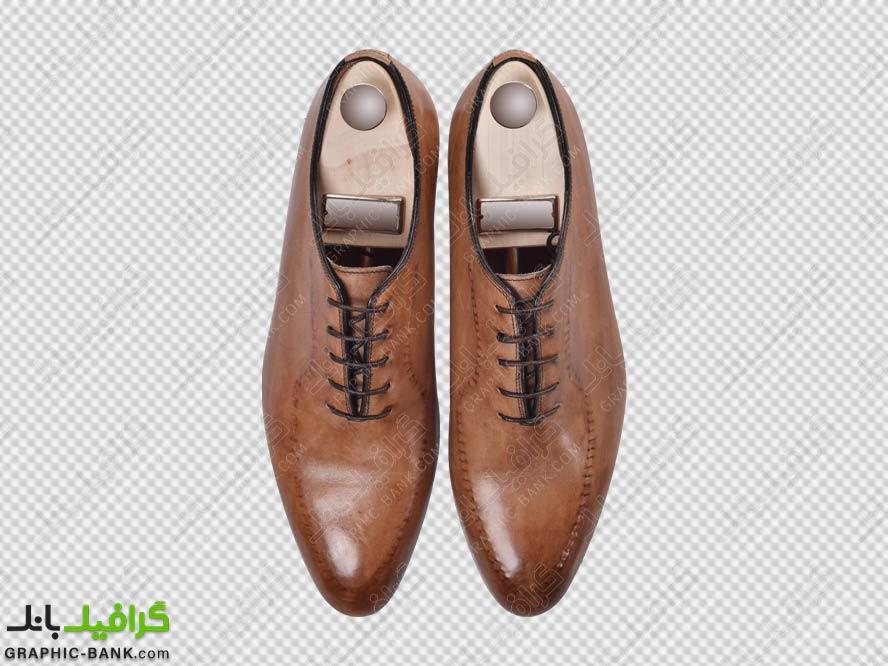 تصویر png کفش مجلسی مردانه