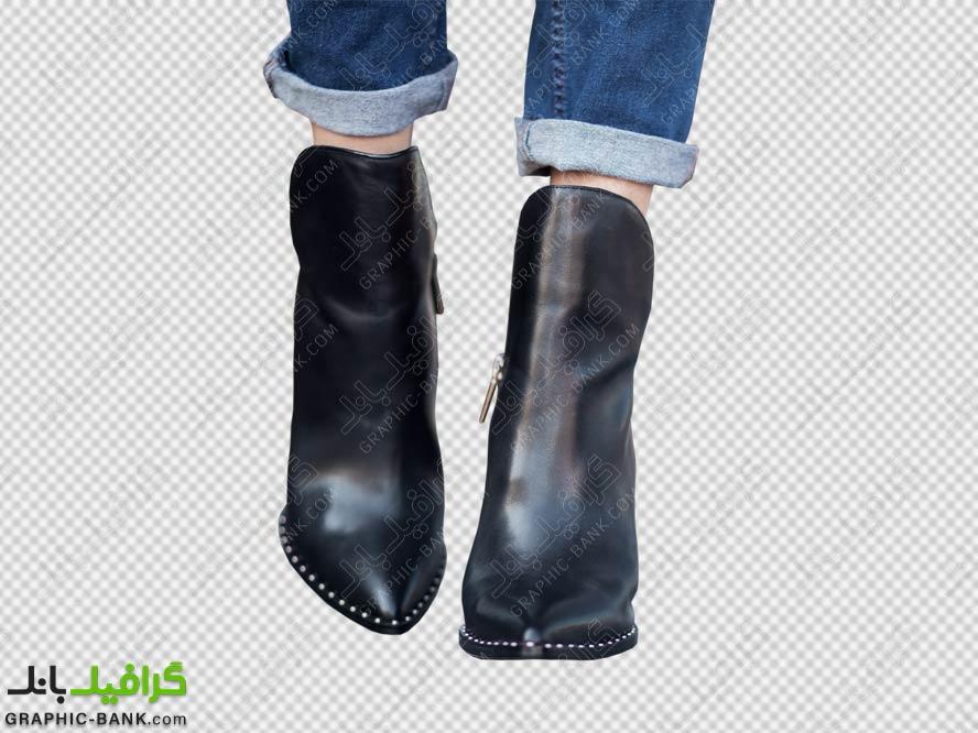 تصویر png پاها با کفش