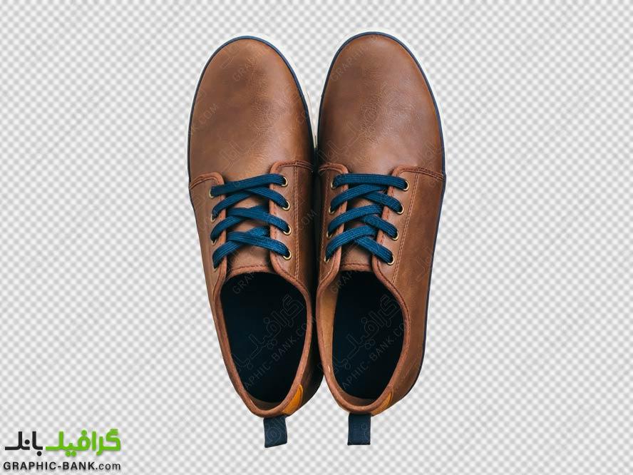 تصویر با کیفیت کفش مردانه png