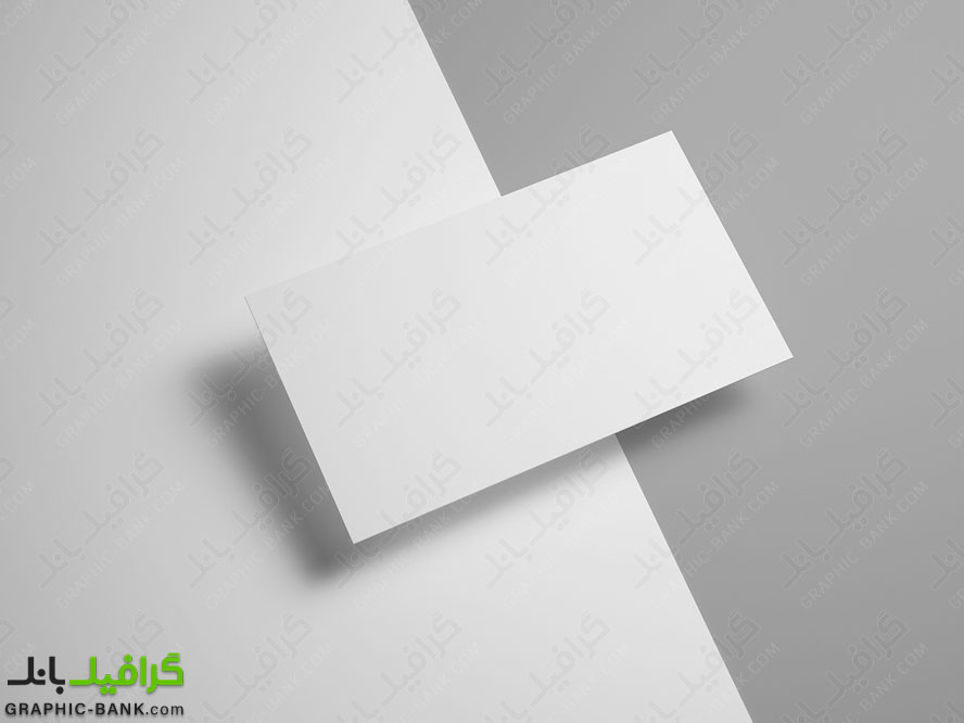 طرح لایه باز پیش نمایش کارت ویزیت