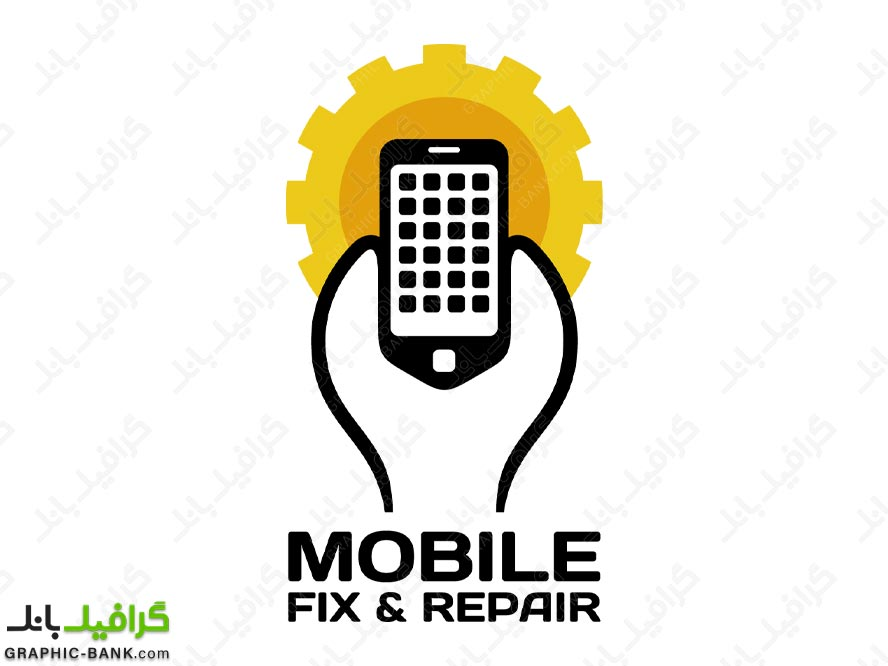 لوگو تعمیرات موبایل