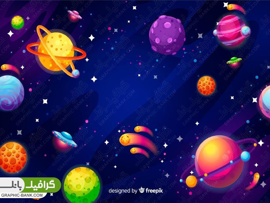 وکتور انواع سیاره